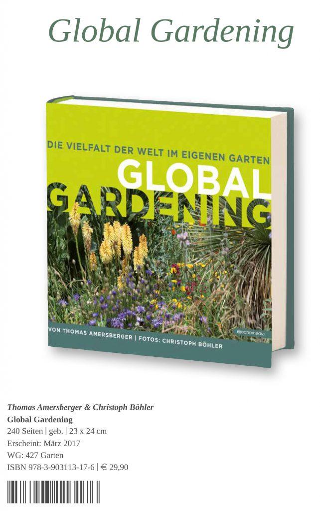 Global Gardening - das Buch von Thomas Amersberger