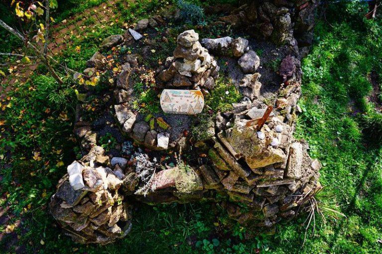 Kräuterspirale im Hortus Felix. Foto: Markus Gastl