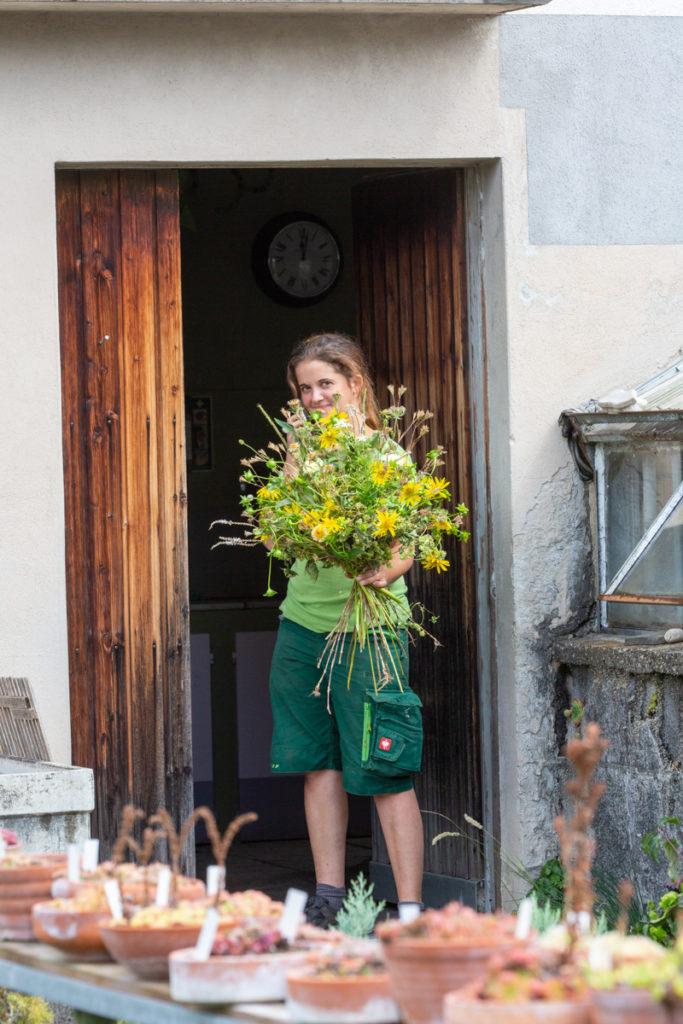 Martina Städter von Garten Bieri. Foto: Marion Nickig